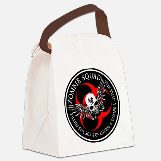 Zombie Squad 3 Ring Patch Revised.png Canvas Lunch