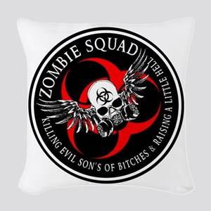 Zombie Squad 3 Ring Patch Revised Woven Throw