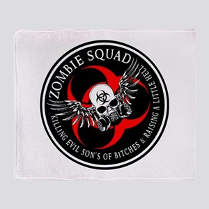 Zombie Squad 3 Ring Patch Revised Throw Blanke