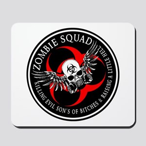 Zombie Squad 3 Ring Patch Revised Mousepad
