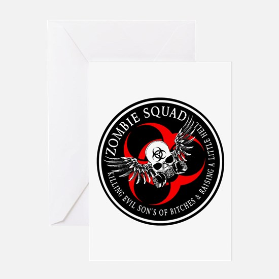Zombie Squad 3 Ring Patch Revised.png Greeting Car