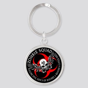 Zombie Squad 3 Ring Patch Revised Keychains