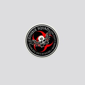 Zombie Squad 3 Ring Patch Revised Mini Button