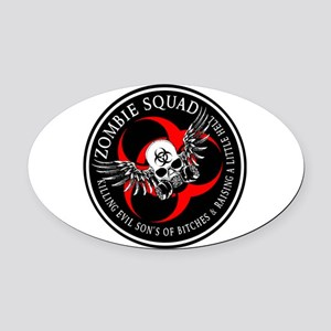Zombie Squad 3 Ring Patch Revised Oval Car Mag