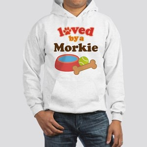 Morkie Dog Hooded Sweatshirt