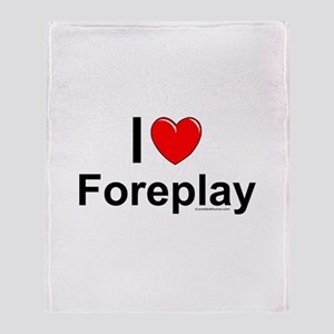 Foreplay Throw Blanket