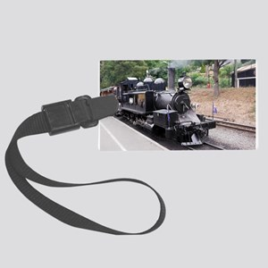 Puffing Billy Historic Steam Tra Large Luggage Tag