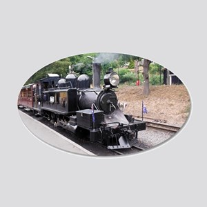 Puffing Billy Historic Steam 20x12 Oval Wall Decal