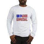 Un Padre Patriótico Long Sleeve T-Shirt