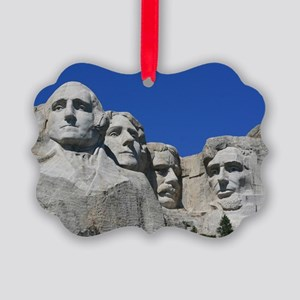 Mount Rushmore National Monument Picture Ornament