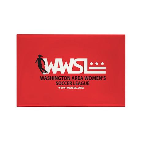 "WAWSL Rectangle Magnet (3 1/8""x2 1/8"")"
