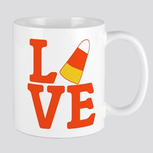 Halloween Love Candy Corn Mug