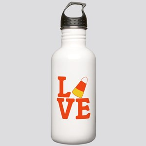 Halloween Love Candy C Stainless Water Bottle 1.0L