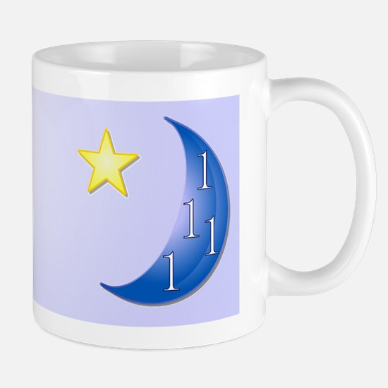 Ones in a Blue Moon Rebus Puzzle Mug
