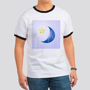 Once in a Blue Moon with Yellow Star Ringer T