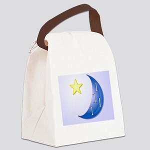 Once in a Blue Moon Canvas Lunch Bag