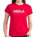 WAWSL Women's Dark Tee (black or red)