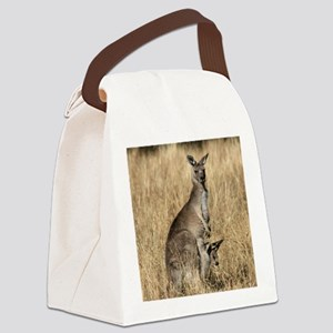 Kangaroos in Australian Bush Canvas Lunch Bag