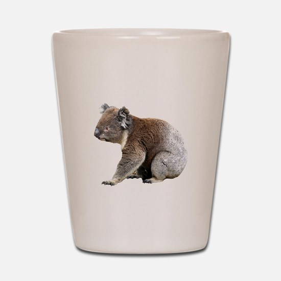Aussie Koala Bear Cutout Photo Shot Glass