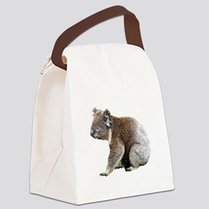 Aussie Koala Bear Cutout Photo Canvas Lunch Bag