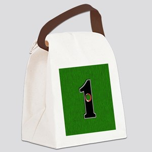 Lucky Golf Hole in One Canvas Lunch Bag