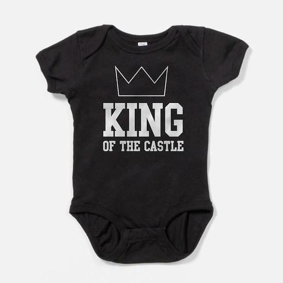 King of the castle Baby Bodysuit