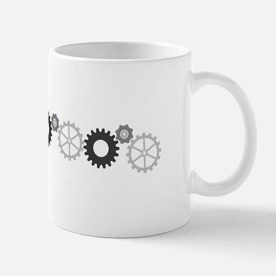 Gear Cog Mugs