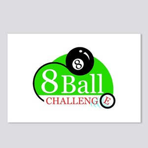 Billiards Pool 8-Ball Challenge Postcards (Package