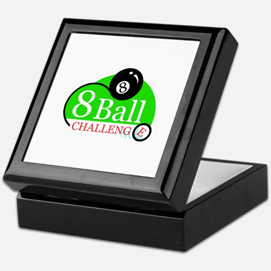 Billiards Pool 8-Ball Challenge Keepsake Box