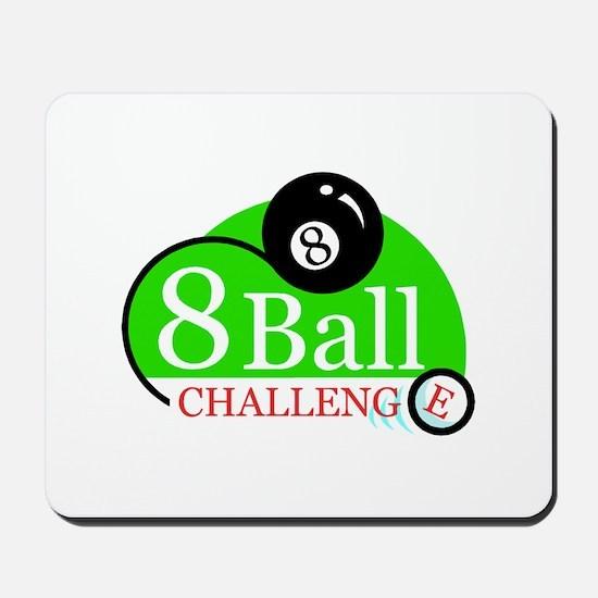 Billiards Pool 8-Ball Challenge Mousepad