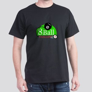 Billiards Pool 8-Ball Challenge Dark T-Shirt