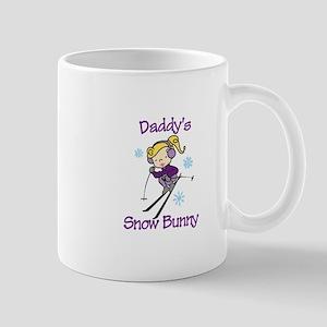 Daddys Snow Bunny Mugs