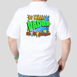 El Mejor Padre Golf Shirt