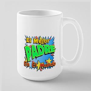El Mejor Padre Large Mug (Jarra Grande)