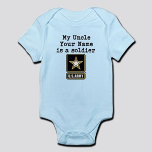 My Uncle Is A Soldier US Army Body Suit