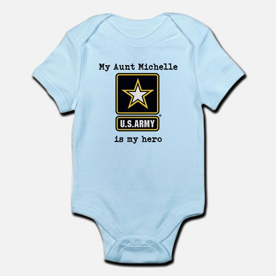 My Aunt Is My Hero US Army Body Suit