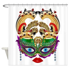 Casino Queen Shower Curtain