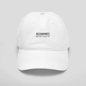 Accountants work assets off Baseball Cap