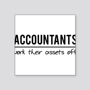 Accountants work assets off Sticker
