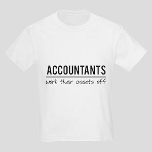 Accountants work assets off T-Shirt