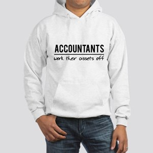 Accountants work assets off Hoodie