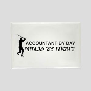 Accountant ninja Magnets
