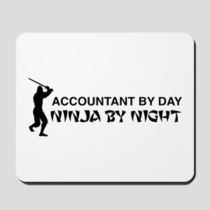 Accountant ninja Mousepad