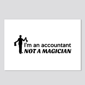 Accountant not magician Postcards (Package of 8)
