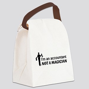 Accountant not magician Canvas Lunch Bag