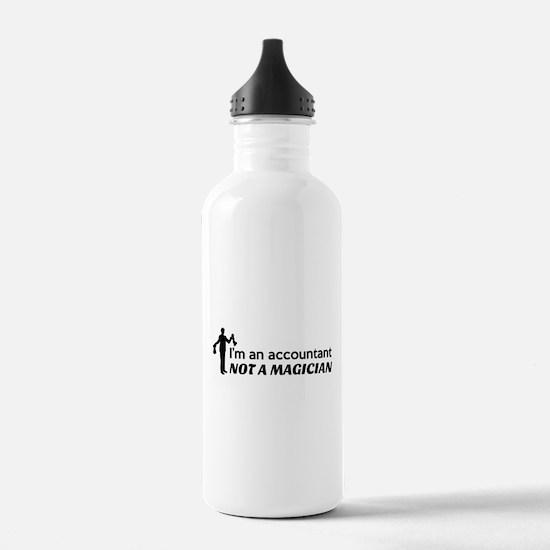 Accountant not magician Water Bottle