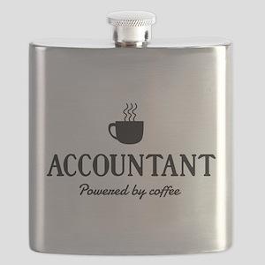 Accountant powered coffee Flask