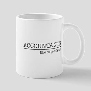 Accountants like to get fiscal Mugs