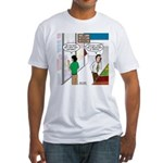 Men Shopping Fitted T-Shirt