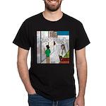 Men Shopping Dark T-Shirt